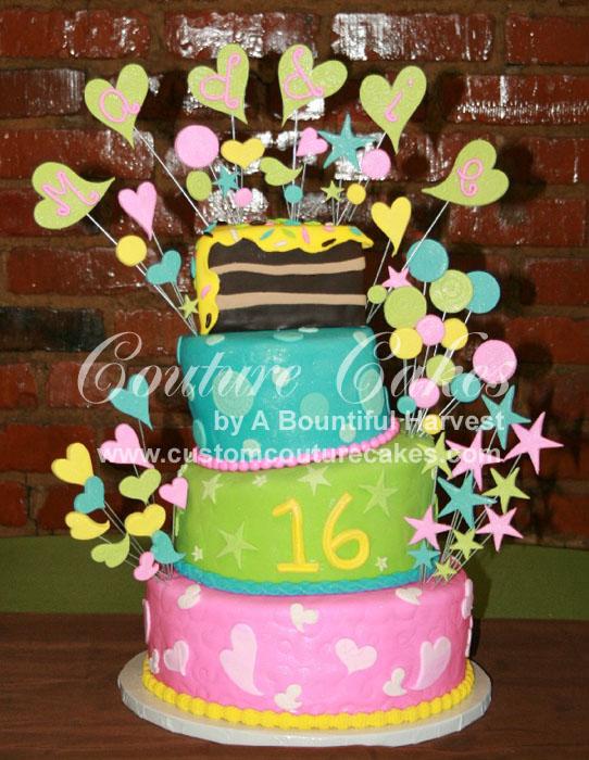 Birthday Cakes Lover: Sweet 16 Birthday Cakes