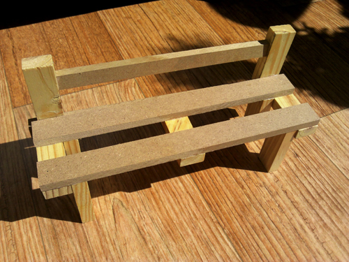 생활요리 > 수공예,DIY,리폼 > 나무 블럭으로 벤치 소품 만들기